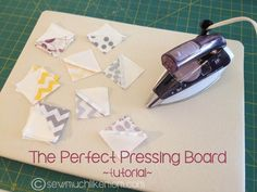 Perfect Pressing Boards || Sew Much Like Mom