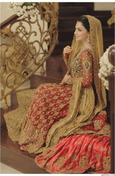 Bunto kazmi Bridal Outfit For Weddings Day And Nikah | Amic News