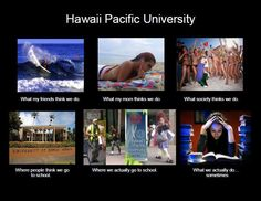 HAHA i looove Hawaii Pacific University