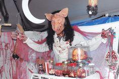 Pig butcher....human parts.