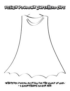 Design Your Own Superhero Cape and Shield Coloring Pages FREE Design Your Own Superhero Cape Coloring Page for Kids Free Bible Coloring Pages, Superhero Coloring Pages, Coloring Pages For Kids, Adult Coloring, Coloring Books, Kids Coloring, Coloring Sheets, Superhero Preschool, Superhero Classroom Theme