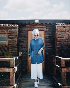 Hijab Style, Casual Hijab Outfit, Hijab Chic, Modern Hijab Fashion, Islamic Fashion, Muslim Fashion, Flowy Pants Outfit, Fashion Pants, Fashion Outfits