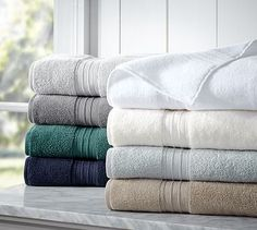 Hydrocotton Bath Towels at the Pottery Barn $8.50 - $26.50