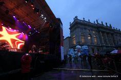 Il concerto di Paola Turci in #piazzacastello chiude la tre giorni di festa per il #decennale delle #olimpiadi