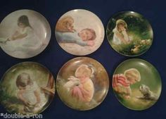 Children and Pets by Donald Zolan FULL SET Authentic Collectible Plates USA SALE #rare #unique $398.88 obo