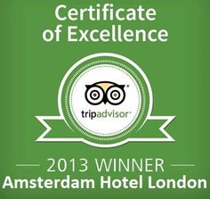 The Amsterdam is pleased to announce that it has earned the coveted Certificate of Excellence for its outstanding performance in 2012.