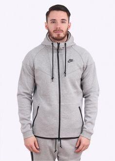 Nike Apparel Tech Fleece Windrunner - Grey � Nike Tech FleecePsGreyMens  FashionSweatshirtMindful ...