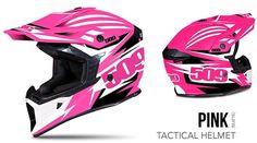 509 Tactical Helmet Pink Matte