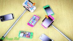 My Froggy Stuff: : How to Make a Doll Selfie Stick and Printable Cell Phone Doll Crafts, Diy Doll, Paula Stephania, American Girl Crafts, Miniature Crafts, Mini Things, Selfie Stick, Doll Furniture, Barbie Dolls