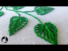 Wonderful Ribbon Embroidery Flowers by Hand Ideas. Enchanting Ribbon Embroidery Flowers by Hand Ideas. Hand Embroidery Flower Designs, Embroidery Leaf, Embroidery Stitches Tutorial, Hand Embroidery Patterns, Machine Embroidery, Embroidery Books, Embroidery Tattoo, Embroidery Monogram, Knitting Stitches
