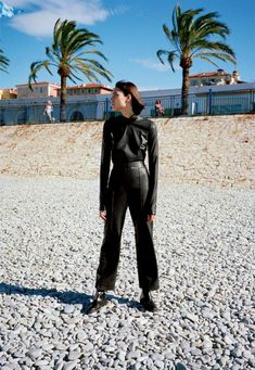 The Gentlewoman - Leather Beach