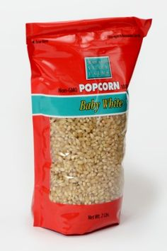 Wabash Valley Farms Baby White Gourmet Popcorn - 2 Pounds of Old Fashioned Hu. Popcorn Kernels, Stovetop Popcorn Popper, Movie Theater Popcorn, White Popcorn, Pop P, Gourmet Popcorn, Farming S, After School Snacks