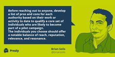 Quote by Brian Solis on Influencer Marketing. Part of this extensive guide: https://www.prezly.com/influencer-marketing-guide