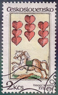 ◙  Czechoslovakia, Postage Stamp. ◙