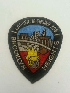 FDNY Ladder 118, Engine 205 Brooklyn Heights Fire patch