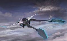 concept ships: Spaceship art by Seokin Chung