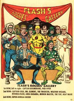Flash's Rogues' Gallery