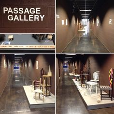 Student work on display in the Passage Gallery! Thanks to the Art Association and Professor Matthew Boonstra's sculpture class.