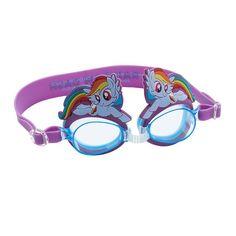 Girls 4-16 My Little Pony Rainbow Dash Swim Goggles, Multicolor