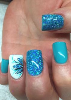 Looking for easy nail art ideas for short nails? Look no further here are are quick and easy nail art ideas for short nails. Fancy Nails, Diy Nails, Pretty Nails, Sparkle Nails, Cute Nail Art, Beautiful Nail Art, Beautiful Pictures, Pretty Nail Designs, Nail Art Designs