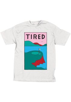 Tired Golf white Titus Onlineshop