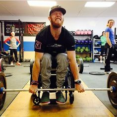 Everyone can #CrossFit! #KevinOgar is such an inspiration! #ogarstrong
