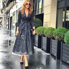 Ramona Filip, Simple Style, Cool Style, Casual Wear Women, Women's Casual, Engagement Dresses, Giovanna Battaglia, Feminine Dress, Autumn Winter Fashion