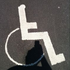 Handicapped disabled sign.