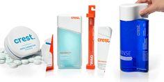 Concepts We Wish Were Real: Rebranding Crest — The Dieline - Branding & Packaging