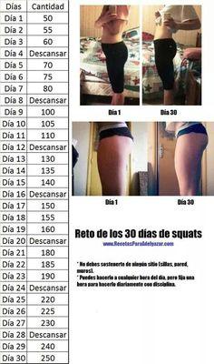 Reto de loa 30 dias de squats .... Exercises