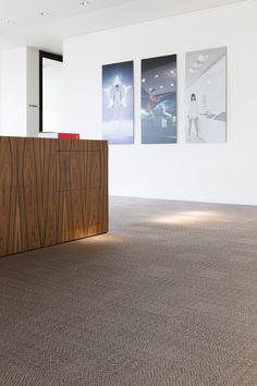2tec2 woven vinyl flooring  collection: Lustre -'Morion Brown' Designed & Made In Belgium