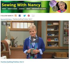 Quilting With Nancy - Scrappy Block of the Month 2016 by Nancy Zieman - FREE Block of the Month program. #NZBoM