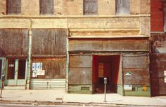 View Beale Street By William Christenberry; Access more artwork lots and estimated & realized auction prices on MutualArt. Color Photography, Vintage Photography, Street Photography, William Christenberry, William Eggleston, Photo Colour, Photo Art, Photographers, Aqa