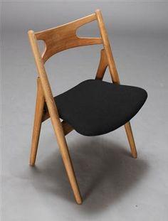 Elsker denne stol Wegner Savbukkestol