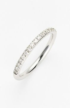 Bony Levy Diamond Band Ring (Nordstrom Exclusive) available at #Nordstrom