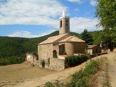 Hortsavinyà, al Montnegre. Romànic. Catalunya