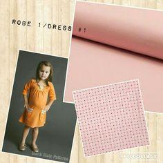 Robe rose jersey