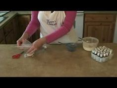 """If you ever intend to decorate a cake or cookies you need to see this video about how to fill your icing bag... LIFE CHANGING. Why didn't they teach THIS in my Wilton class???"""