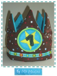 My Mucki: 1. Geburtstag - Geburtstagskrone - Birthdaycrown - Free Pattern