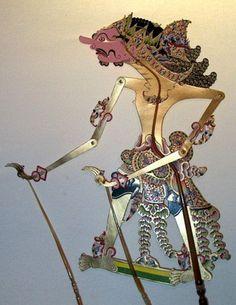 Wayang kulit puppet, Central Java