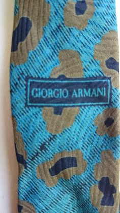 Check out this item in my Etsy shop https://www.etsy.com/listing/466612535/two-vintage-giorgio-armani-neckties-made