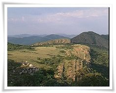 Vredefort Dome: view of the upturned and faulted Hospital Hill quartzite from Steenkampsberg towards the northeast Geology, South Africa, River, Afrikaans, Outdoor, Outdoors, Outdoor Games, The Great Outdoors, Rivers