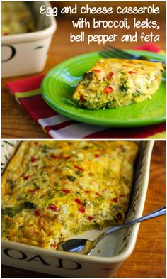 Egg and cheese casseroles are perfect for Meatless Monday dinners.