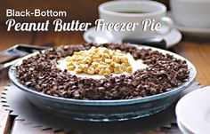 Black-Bottom Peanut Butter Freezer Pie from Nut Butter Universe by Robin Robertson