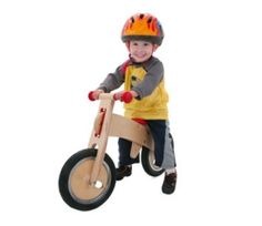 """""""Balance Bike"""" teaches you to balance on a bike before you learn to pedal. Learn the hard thing before the easy thing. It's more a training BIKE than training WHEELS."""