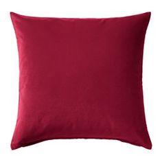"SANELA cushion cover, dark pink Length: 20 "" Width: 20 "" Length: 50 cm Width: 50 cm"