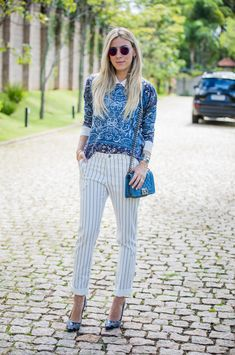 LOOK DO DIA MIX DE ESTAMPAS