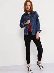 Is the Denim Jacket in Style? Sarah Jessica Parker, Kate Hudson and Reese Witherspoon think so. Fear not! If you have thrown your retro denim jacket out years ago, because they're back big time! So I've created a post brimming with denim jacket ideas. Enjoy. xx http://lovecoats.uk/is-the-denim-jacket-in-style