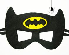 16 felt Superhero Masks party pack for kids YOU by FeltFamily