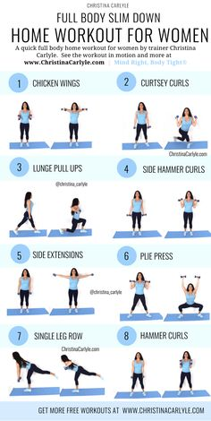 Fat burning home workout for women and beginners. This full body home workout will help you burn fat and get fit. This fat-burning workout is perfect for busy women and beginners. body workout at home with weights Full Body Workouts, Beginner Workouts, Full Body Workout At Home, At Home Workout Plan, Gym Workouts, Beginner Full Body Workout, Fat Workout, Workout Plans, Workout Routines